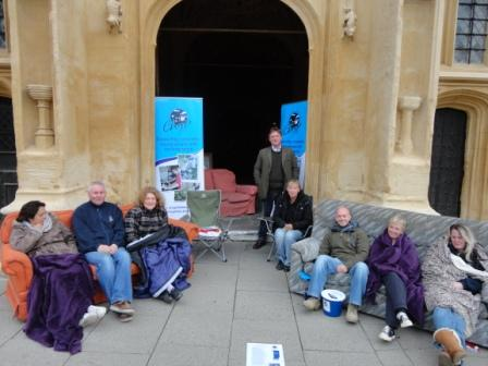 Sleepout for Homelessness