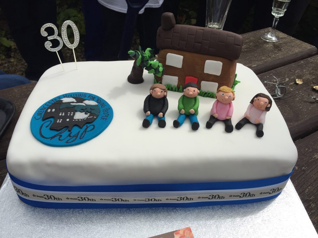 30th anniversary cake of chyp house